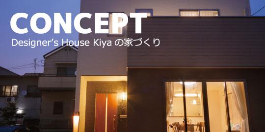 デザイナーズハウス木屋の家づくり